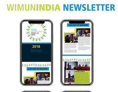WIMUN India Newsletter