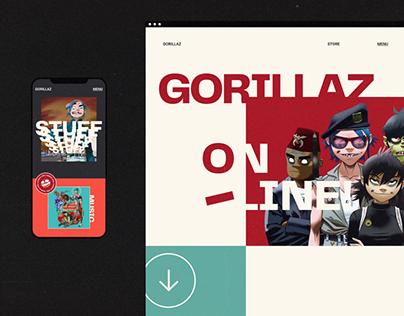 Gorillaz — Band Website