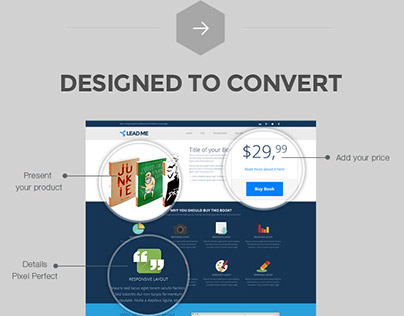 Lead Me - Converting Landing Page