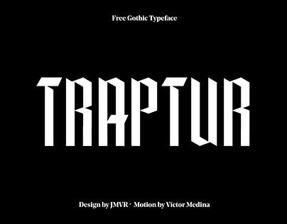 Traptur Typeface