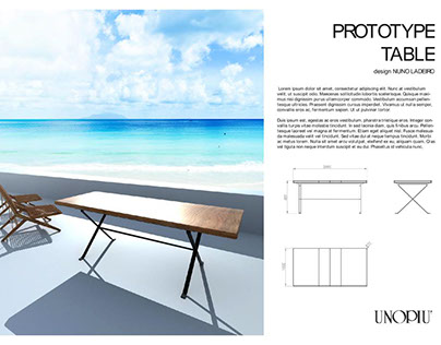 Extension Table for Outdoor use