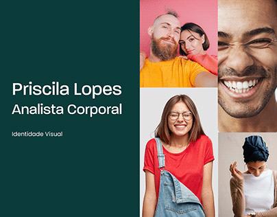 Priscila Lopes   Analista Corporal