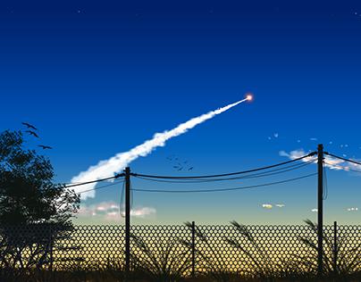 Rocket-in-the-dark