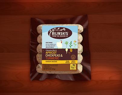 Bilinski's Sausage redesign
