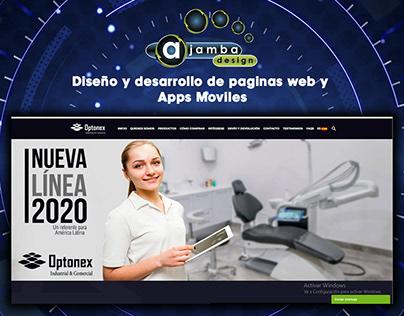 Diseño y Desarrollo de una pagina web | Ajamba