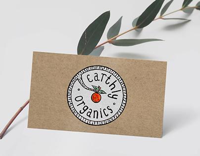 Earthly Organics - Brand identity