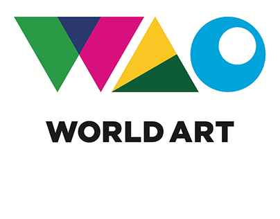 WAO World Art Logo