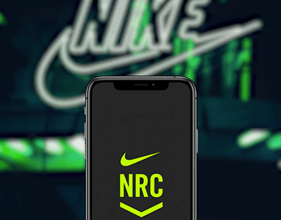 Nike Run Club Onboarding Screens