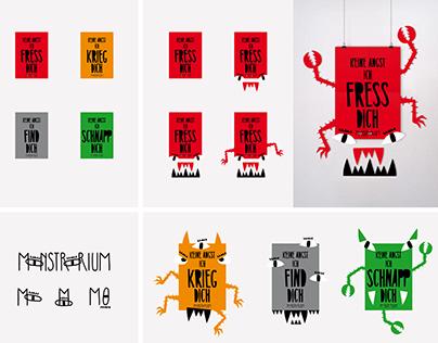 MONSTRORIUM - Print Campaign