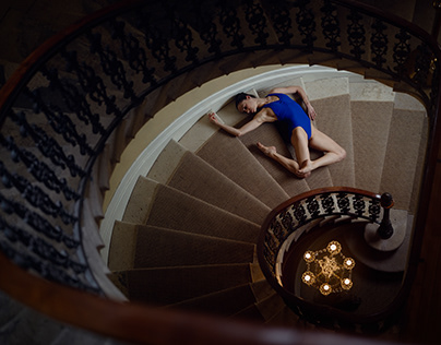Joanna - Ballet photoshoot