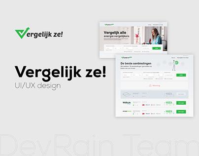 Vergelijk ze! - Platform to monitor prices for energy