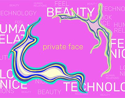 private face