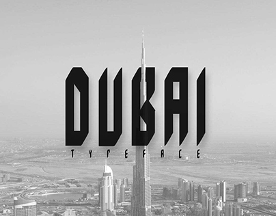 DUBAI | Free Typeface