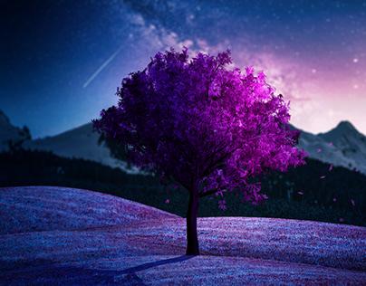 Tutoriel Photomanipulation Photoshop - L'arbre