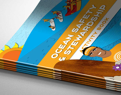 Educational Workbook Illustration and layout