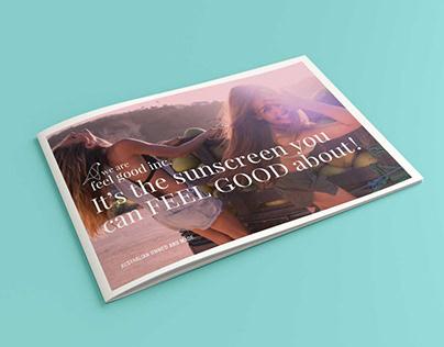 Feel Good AD and Brochure