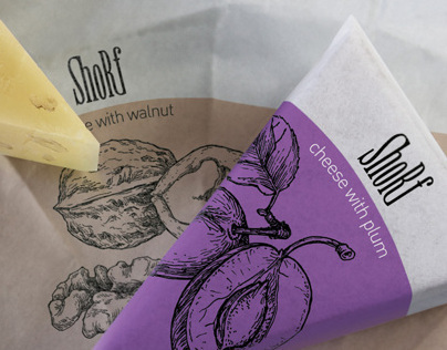 Shorf - packaging for Cheese
