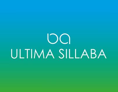 Ultima Sillaba - Game App Concept Design