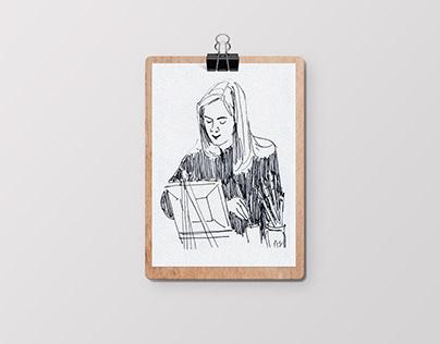Live portraits - Randstad