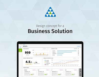 Design concept for a business solution