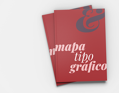 mapa tipográfico | projeto acadêmico