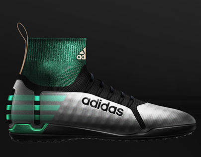 Adidas Turf soccer cleats design project.