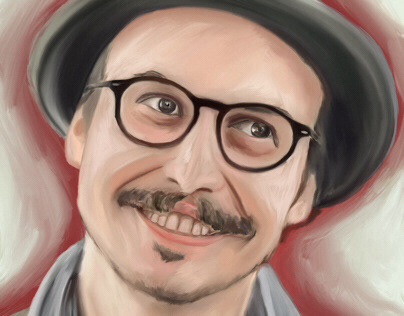 Sedat Girgin illüstration portrait
