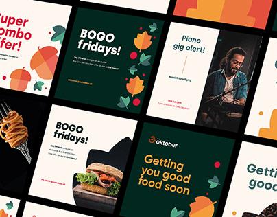 CAFÉ OKTOBER | Brand Identity Design