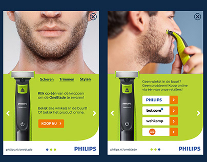 Philips OneBlade Mobile