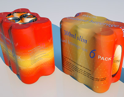 Can package 300ml slim