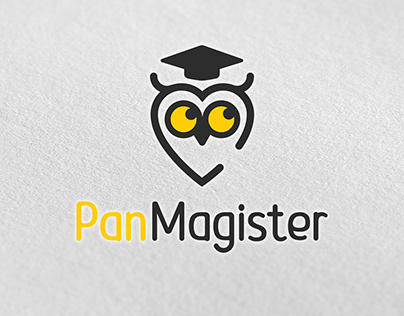 Logotype for language school