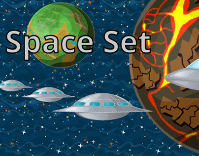 2d Space Set for games