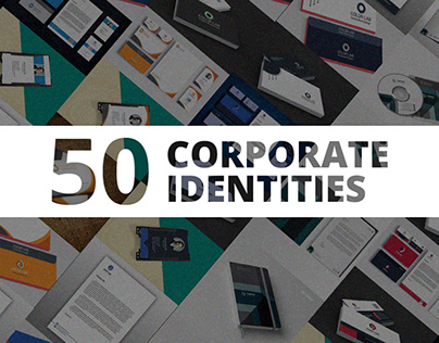 50 Corporate Identities with Extended License