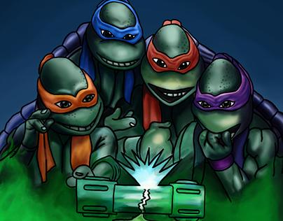 """""""Las Tortugas Ninja"""""""