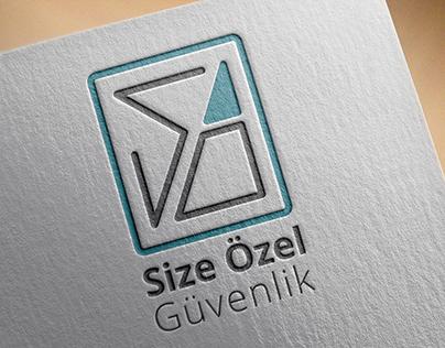 """""""Size Özel"""" Security Logo Design and Corporate Identity"""
