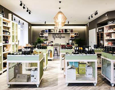 E-drinks wine store