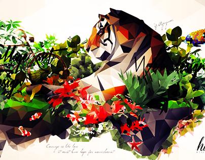 Polygon Garden