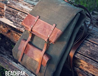 BEACHPAK - sandfree backpack and beachmat