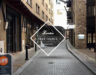 EXPERIMENTAL MOTION AT SHAD THAMES, LONDON