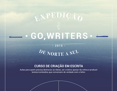 Expedição GO, WRITERS!