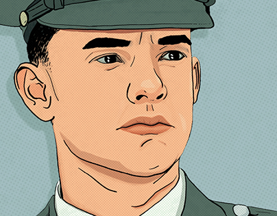 Ilustração   Forrest Gump
