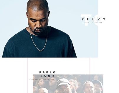 Kanye West Flagship Toronto Store Concept