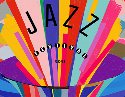 Montreux Jazz Festival 2021 / competition poster