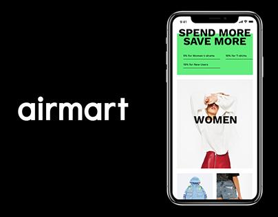 airmart ecommerce app template