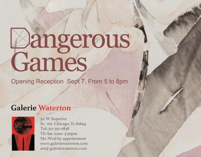 Dangerous Games Yue Xiaofei Solo Exhibition in Chicago