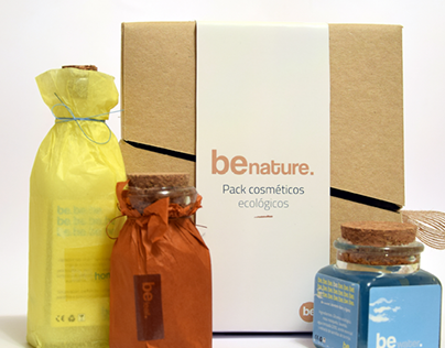 BE NATURE. ~ Packaging design