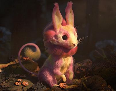 Rabbit Creature Yeti Groom