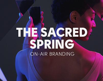 spring on-air branding