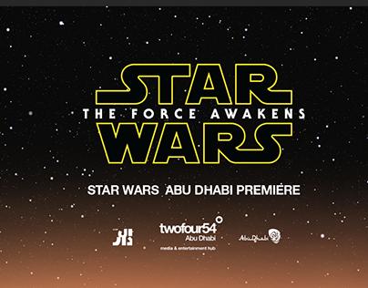 Starwars: The Force Awakens Abu Dhabi Premiere
