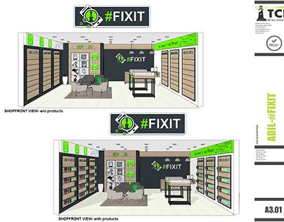 #FixIt Cellphone Store Design